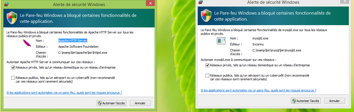 Installer MAMP et WordPress11