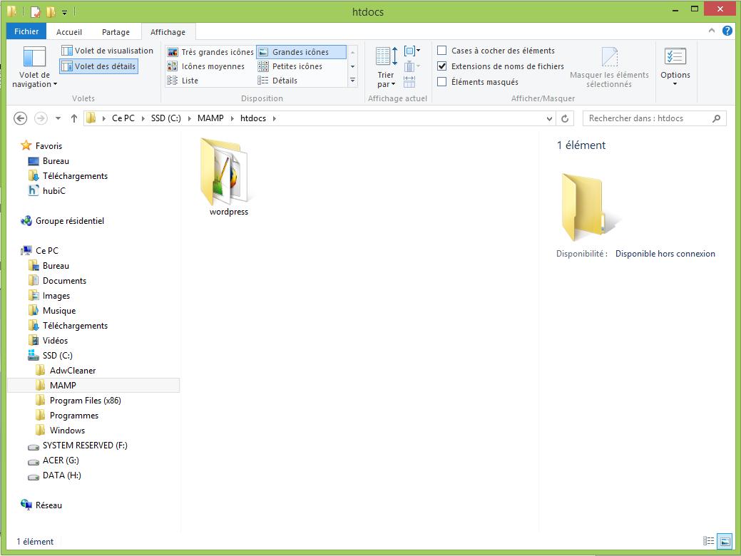Installer MAMP et WordPress16
