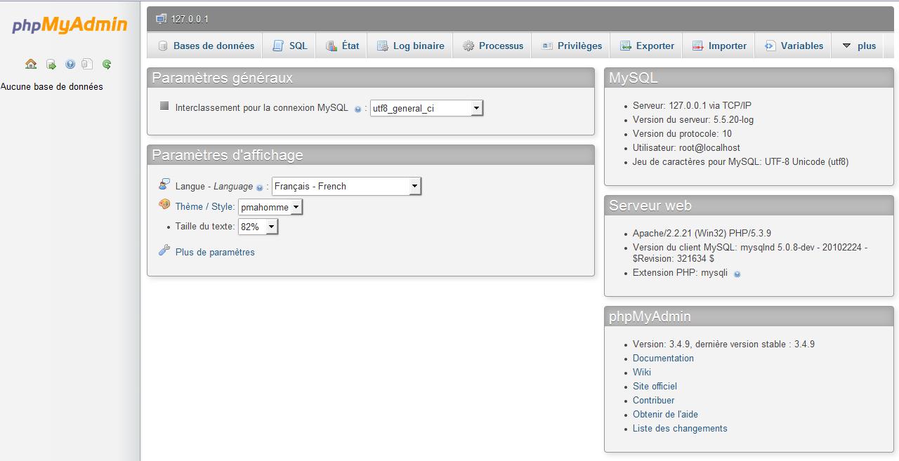 Installer MAMP et WordPress19