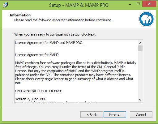 Installer MAMP et WordPress6