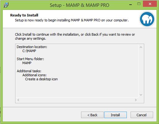 Installer MAMP et WordPress8