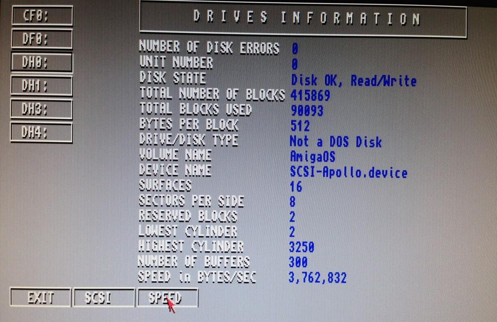 Amiga Compact Flash et SCSI