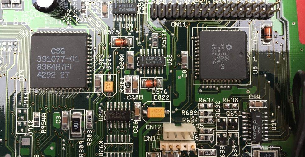 Condensateurs tantales sur l'Amiga