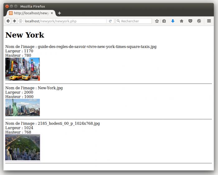 Gestion des images avec PHP