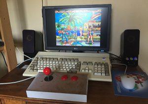 Fabriquer son joystick Amiga arcade V2