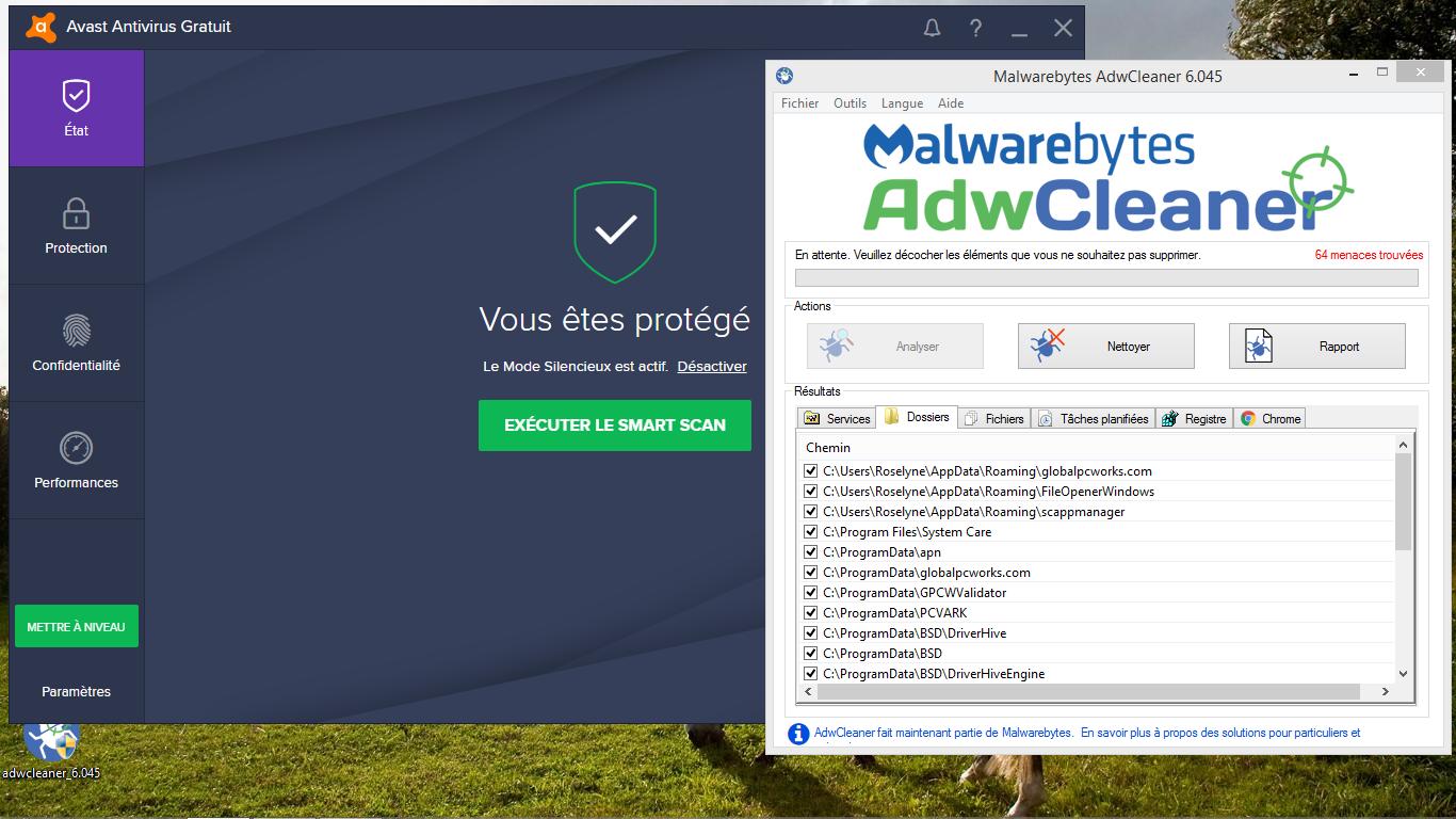 bon et mauvais antivirus