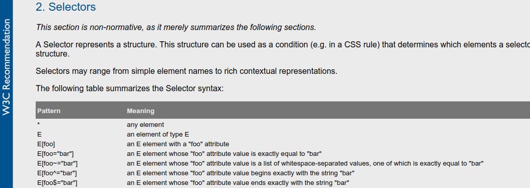 Sélecteurs CSS3