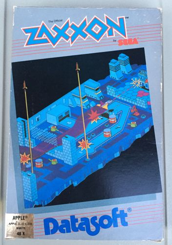 Zaxxon Apple II