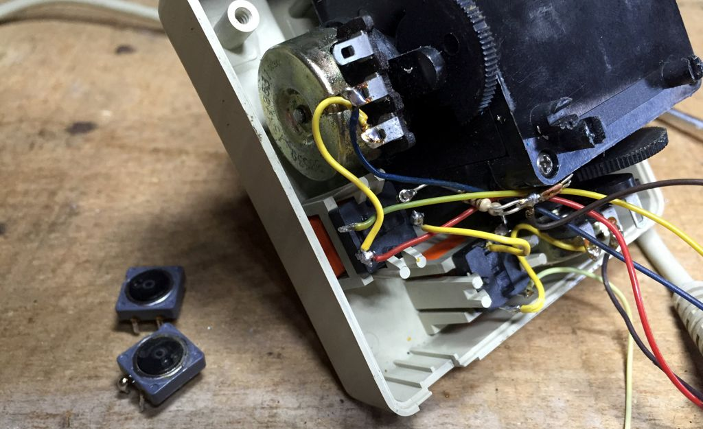 manette et microswitchs