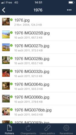 OwnCloud sur mobile