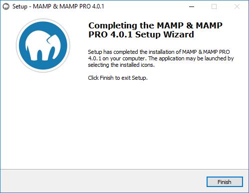 installation MAMP