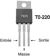Régulateur de tension 7805