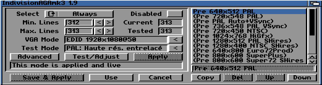 Indivision AGA MK3 Amiga