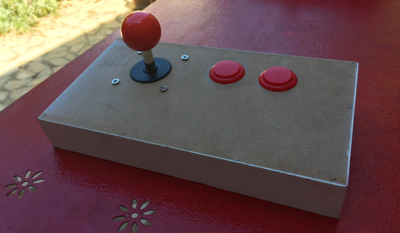 Joystick Arcade Amiga